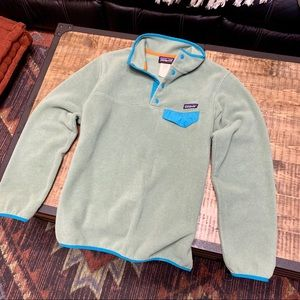 Patagonia snap t M synchilla fleece AS IS !